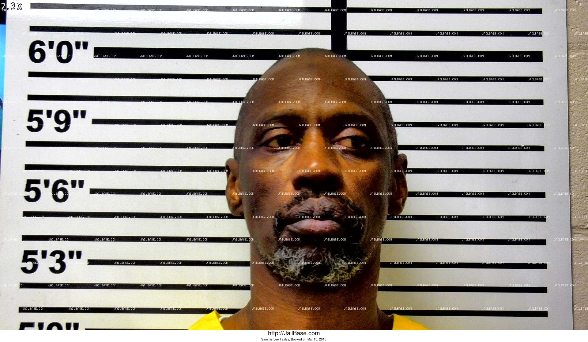 sammie lee fairley mugshot picture