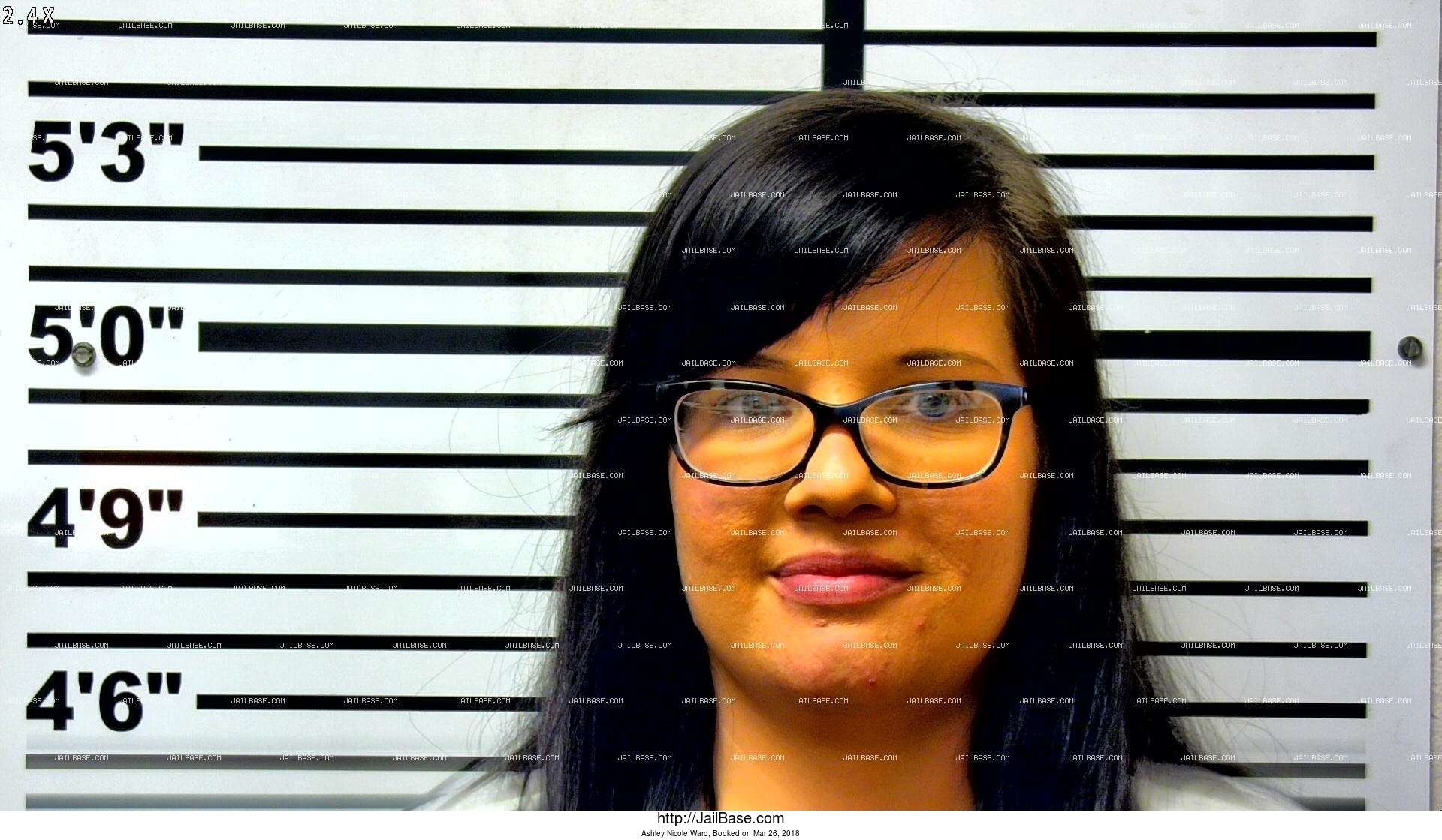 ashley nicole ward mugshot picture