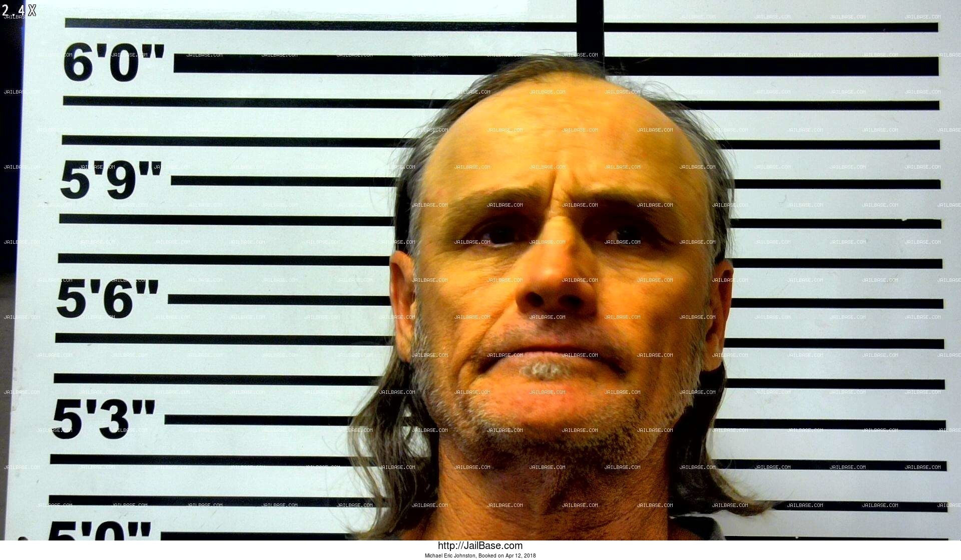 michael eric johnston mugshot picture