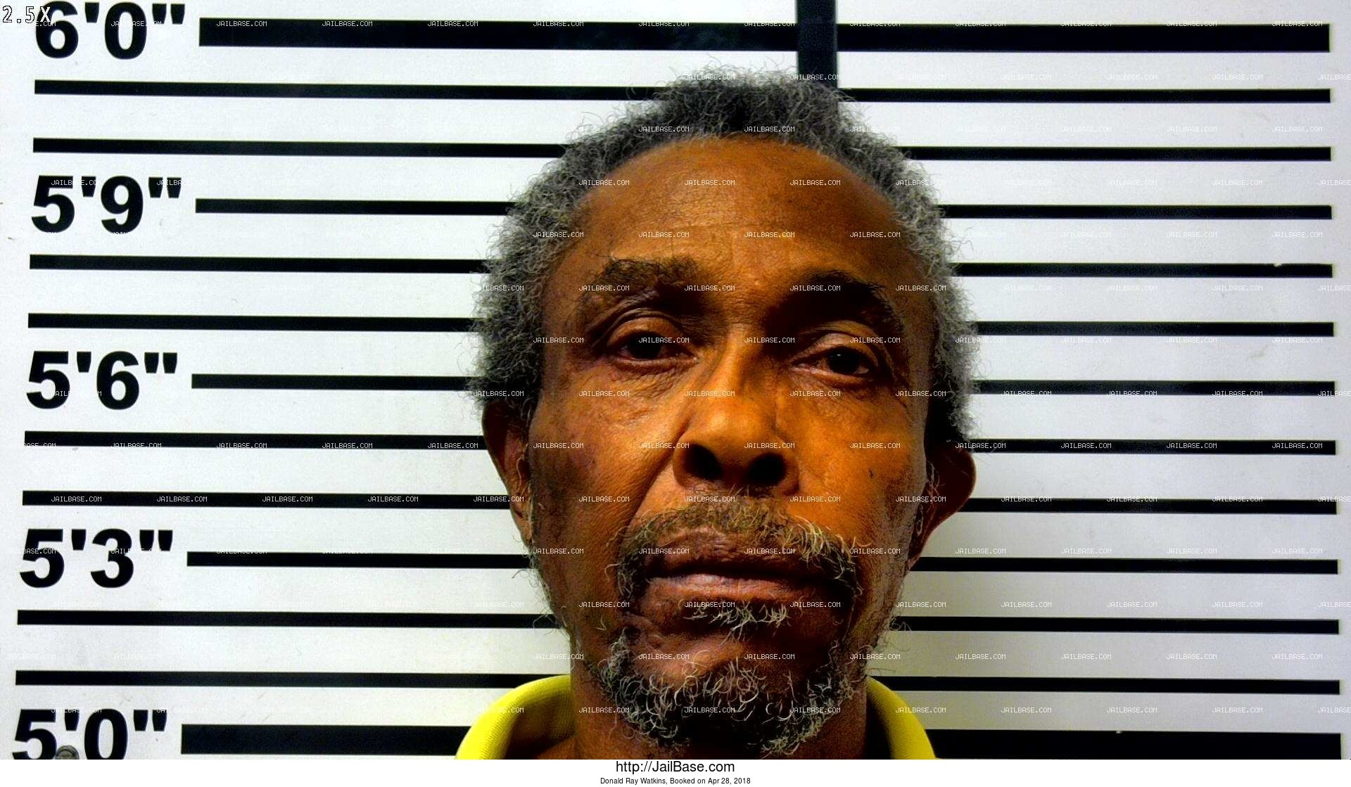 donald ray watkins mugshot picture