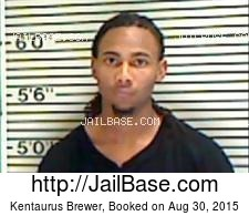Kentaurus Brewer mugshot picture