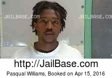 Pasqual Williams mugshot picture