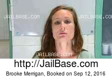 Brooke Merrigan mugshot picture