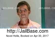 Novel Hollis mugshot picture