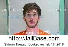 Stillman Howard mugshot picture
