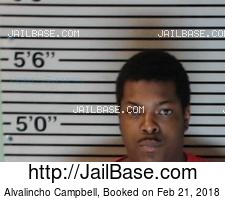 Alvalincho Campbell mugshot picture