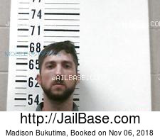 Madison Bukutima mugshot picture
