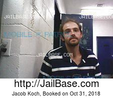 Jacob Koch mugshot picture
