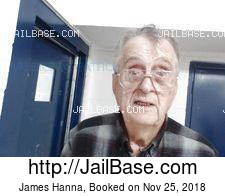 James Hanna mugshot picture