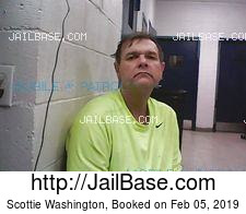 Scottie Washington mugshot picture