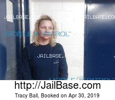 Tracy Ball mugshot picture