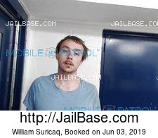 William Suricaq mugshot picture