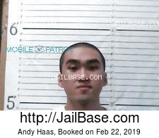 Andy Haas mugshot picture