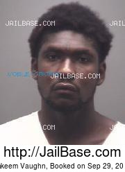 Takeem Vaughn mugshot picture