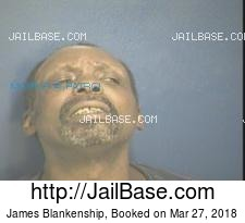 James Blankenship mugshot picture