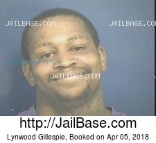 Lynwood Gillespie mugshot picture