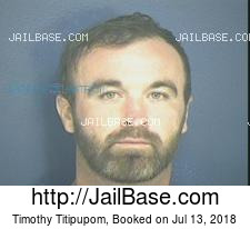 Timothy Titipupom mugshot picture