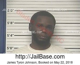 James Tyron Johnson mugshot picture