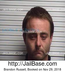 Brandon Russell mugshot picture
