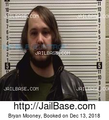 Bryan Mooney mugshot picture
