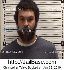 Christopher Talex mugshot picture