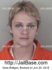 Darla Bridges mugshot picture
