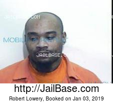Robert Lowery mugshot picture
