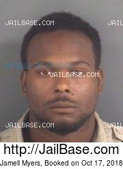 Jamell Myers mugshot picture