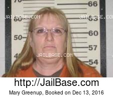 Mary Greenup mugshot picture