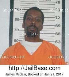 James Mcclain mugshot picture