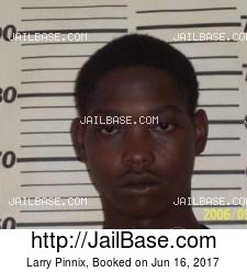 Larry Pinnix mugshot picture