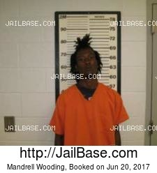Mandrell Wooding mugshot picture