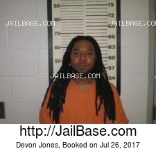 Devon Jones mugshot picture
