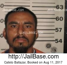 Calixto Baltazar mugshot picture