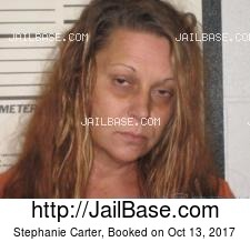 Stephanie Carter mugshot picture