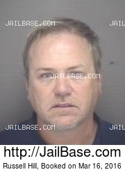Russell Hill mugshot picture