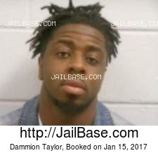 Dammion Taylor mugshot picture