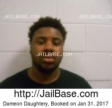 Dameon Daughtery mugshot picture