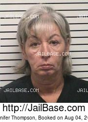 Jennifer Thompson mugshot picture