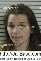 Mariah Coley mugshot picture