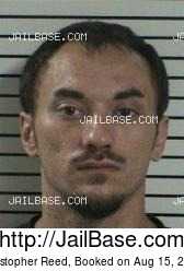 Christopher Reed mugshot picture