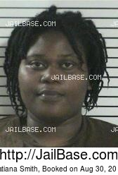 Tatiana Smith mugshot picture