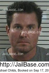 Michael Childs mugshot picture