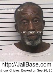 Anthony Chipley mugshot picture