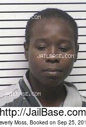 Beverly Moss mugshot picture