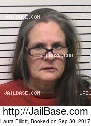Laura Elliott mugshot picture