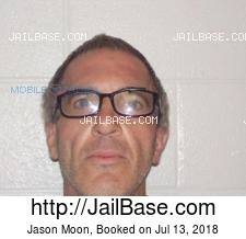 Jason Moon mugshot picture