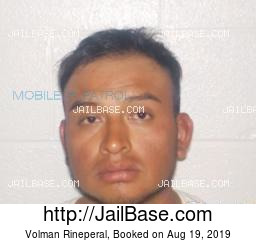 Volman Rineperal mugshot picture