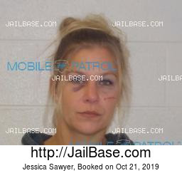 Jessica Sawyer mugshot picture