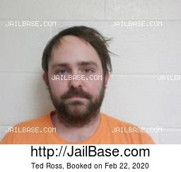 Ted Ross mugshot picture